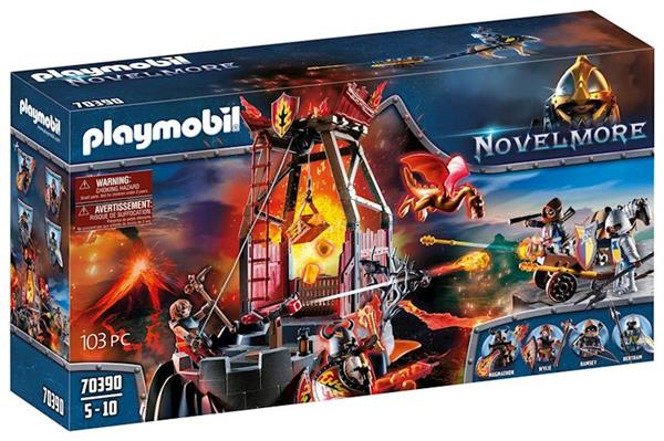 Imagen de Playmobil Novelmore Mina de Lava de los Bandidos Burnham