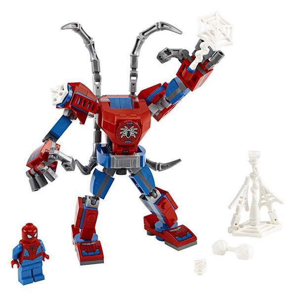 Imagen de Armadura Robótica de Spider-Man Lego Superhéroes