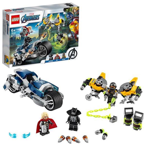 Imagen de Vengadores Ataque en Moto Superhéroes Lego