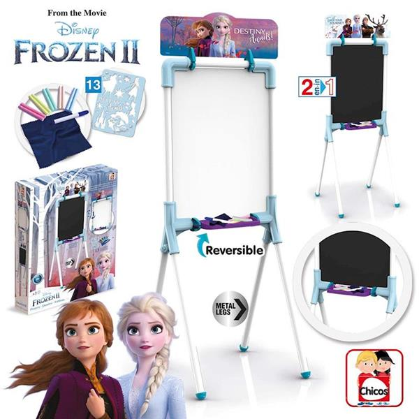 Imagen de Pizarra Frozen II Reversible Chicos