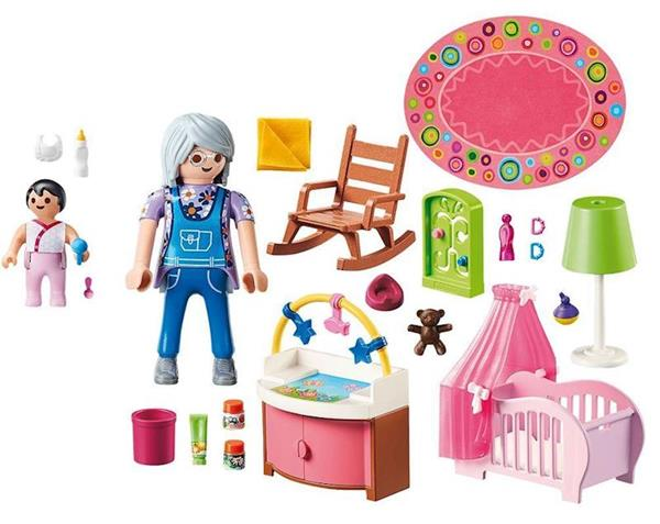 Imagen de Playmobil Dollhouse Habitación del Bebé