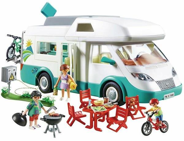 Imagen de PLaymobil Family Fun Caravana de Verano