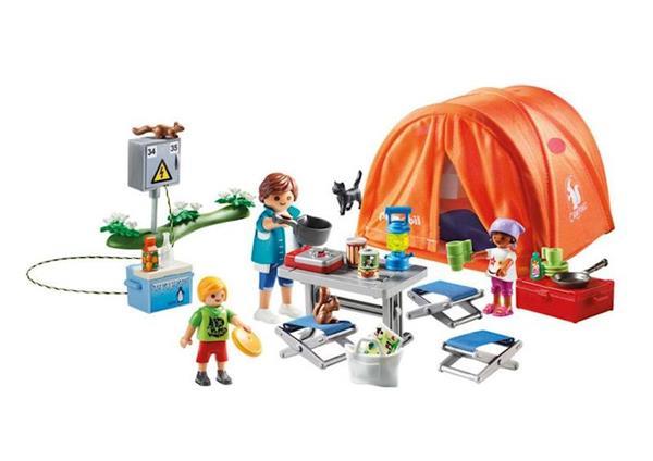 Imagen de Playmobil Family Fun Tienda de Campaña
