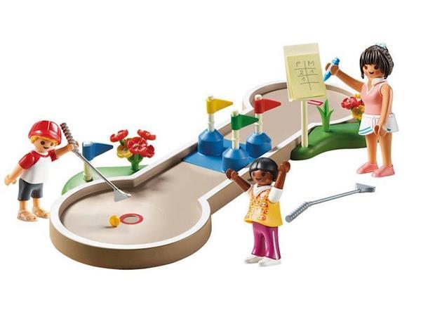 Imagen de Playmobil Family Fun Mini Golf