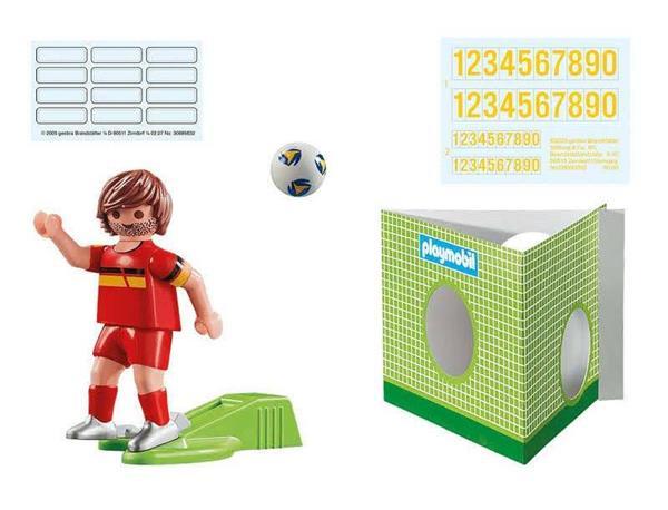 Imagen de Playmobil Jugador de Fútbol - Bélgica