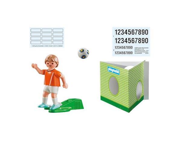 Imagen de Playmobil Jugador de Fútbol - Holanda