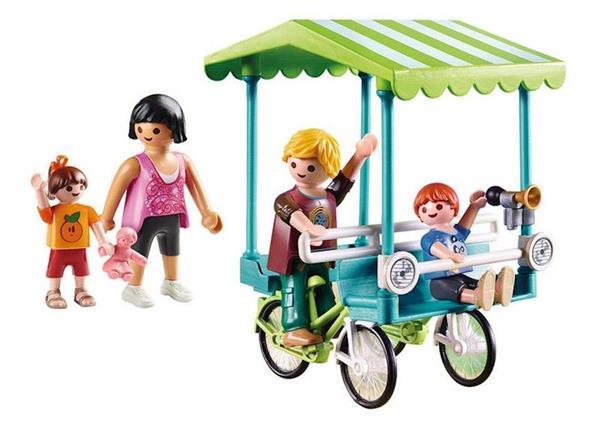 Imagen de Playmobil Family Fun Bicicleta Familiar