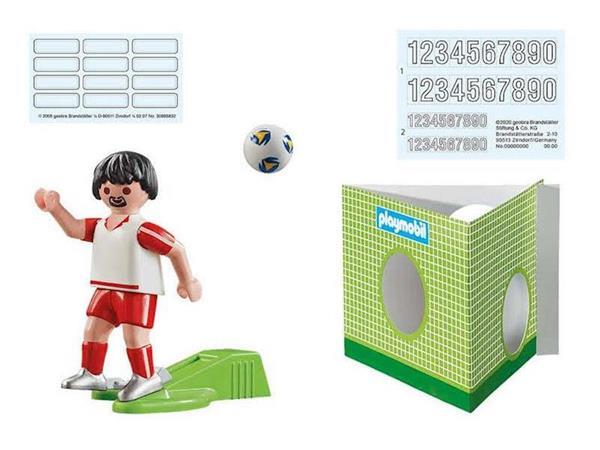 Imagen de Playmobil Jugador de Fútbol - Polonia