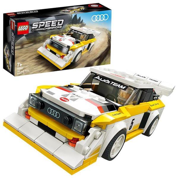 Imagen de 1985 Audi Sport Quattro S1 Lego Speed Champions