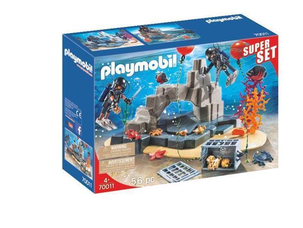 Imagen de Playmobil Country SuperSet Unidad de Buceo