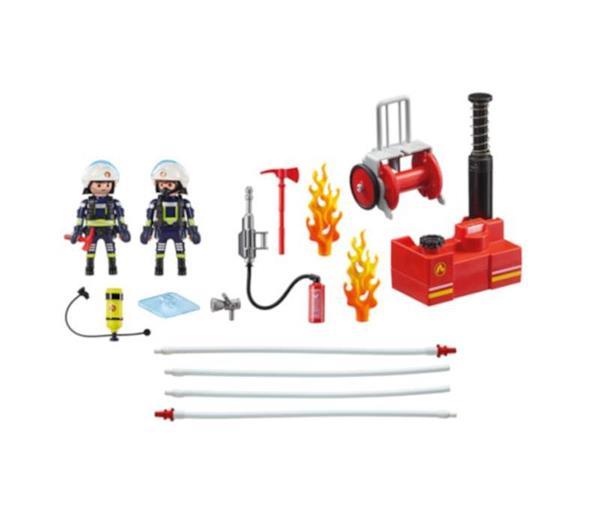 Imagen de Playmobil Bomberos con Bomba de Agua