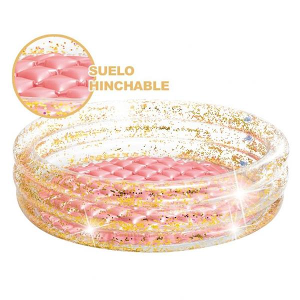 Imagen de Piscina Hinchable Glitter 56 Litros