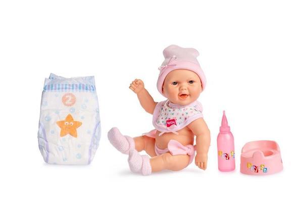 Imagen de MUñeca Baby Pipi con Traje Rosa y Accesorios