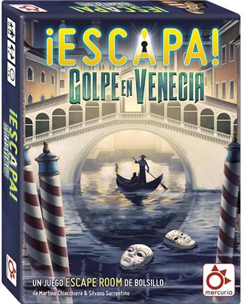 Imagen de Juego Escapa, Golpe en Venecia