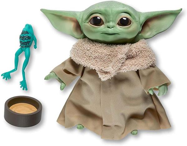 Imagen de Muñeco Baby Yoda Interactivo 19 CM Mandalorian