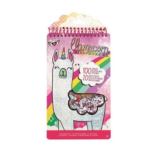 Imagen de Album Para Dibujar Fashion Angels Fantasía de Llama