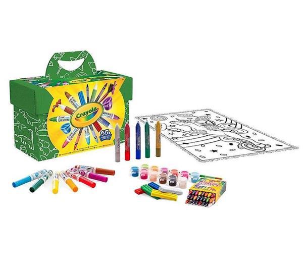 Imagen de Pinta y Colorea Set con 55 piezas de Crayola