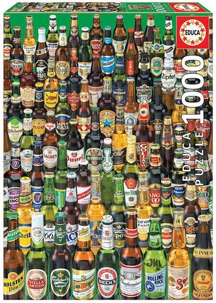 Imagen de Puzzle 1000 piezas Cervezas Educa