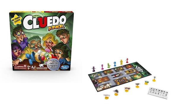 Imagen de Juego de mesa Cluedo Junior Hasbro