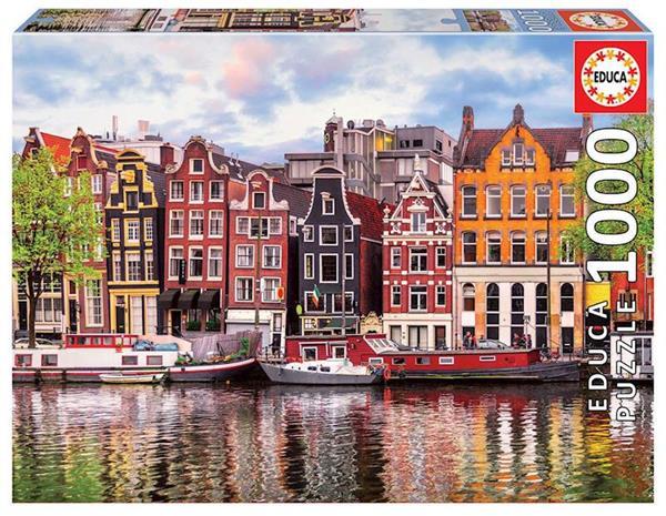 Imagen de Puzzle 1000 piezas Casas Danzantes Amsterdam
