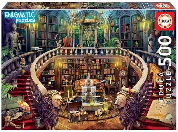 Imagen de Puzzle 500 Biblioteca Enigmatic Puzzle