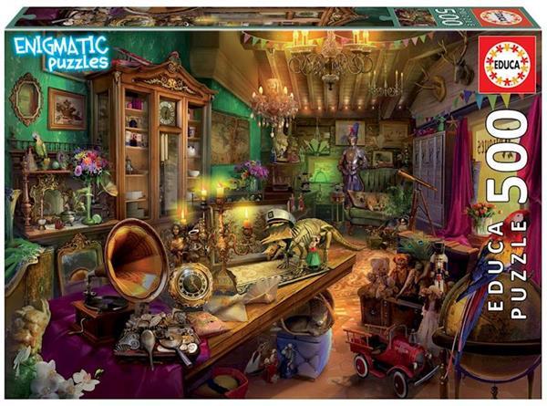 Imagen de Puzzle 500 piezas Tienda de Antigüedades Enigmatic Puzzle