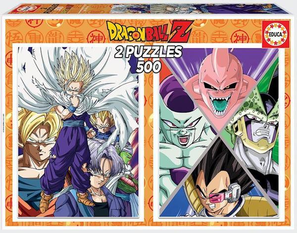Imagen de Puzzle 2x500 Dragon Ball