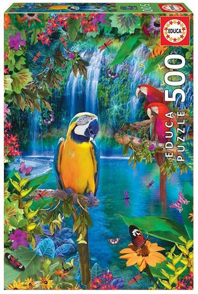 Imagen de Puzzle 500 piezas Paraíso Tropical