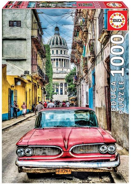 Imagen de Puzzle 1000 piezas Coche en la Habana