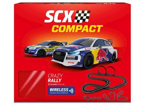 Imagen de Pista Scalextric Compact Crazy Rally de 6,7 m