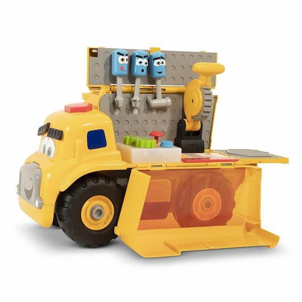 Imagen de Camión Transformable en Taller Preescolar de 30 cm con Herramientas