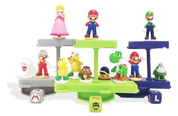 Imagen de Juego Balanceo Super Mario. Ayuda a Mario y sus amigos a mantener el Equilibrio.