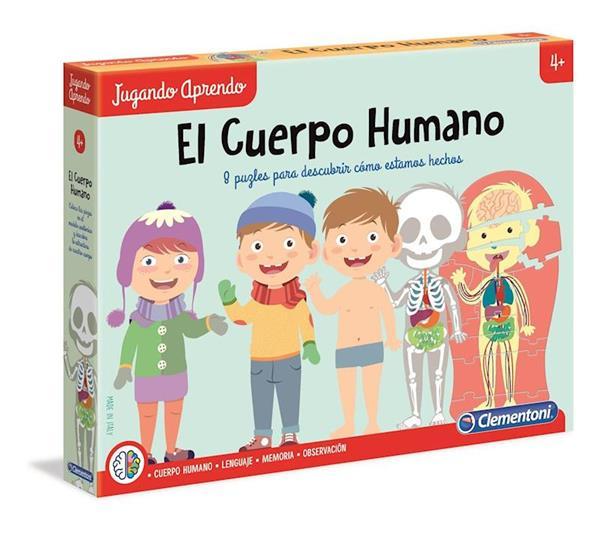 Imagen de Aprende El Cuerpo Humano de Clementoni