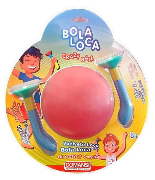 Imagen de Bola Loca 4 colores Comansi