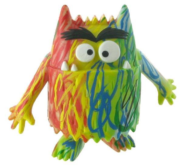Imagen de Figura Monstruo Multicolor Comansi