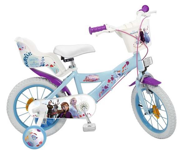 Imagen de Bicicleta 14 Pulgadas Frozen 2 4/6 Años