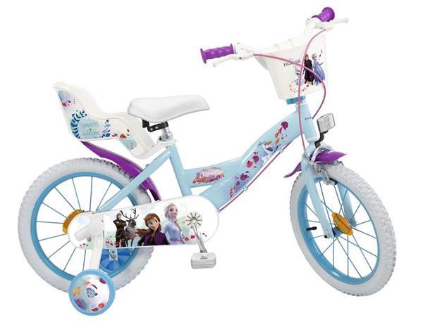 """Imagen de Bicicleta 16""""  Frozen 2 5/8 Años"""