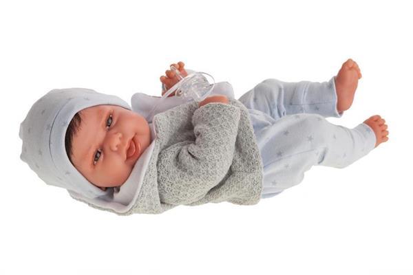 Imagen de Muñeco Baby Clar Con Gorro Estrella Antonio Juan
