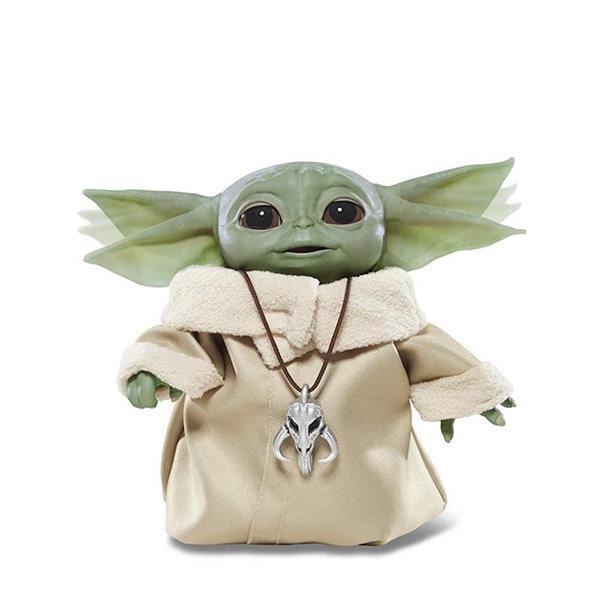 Imagen de Muñeco Electrónico Baby Yoda 25 cm Star Wars