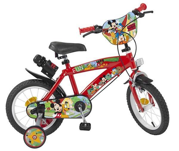 """Imagen de Bicicleta 14"""" Mickey de 4/6 años Toimsa"""