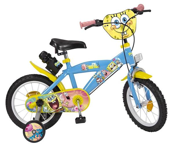 """Imagen de Bicicleta 14"""" Bob Esponja de 4/6 Años Toimsa"""