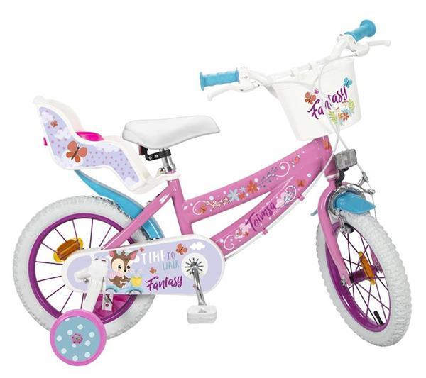"""Imagen de Bicicleta 14"""" Fantasy Walk de 4/6 años Toimsa"""