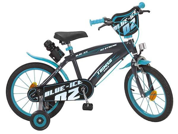 """Imagen de Bicicleta 16"""" Blue Ice de 5/8 años Toimsa"""