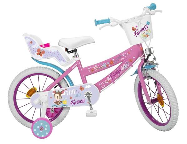 """Imagen de Bicicleta 16"""" Fantasy Walk De 5/8 Años Toimsa"""