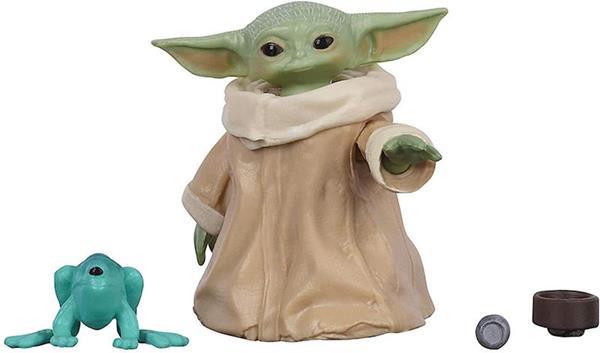 Imagen de Figura Star Wars Baby Yoda Mandalorian Black Series 3 cm.