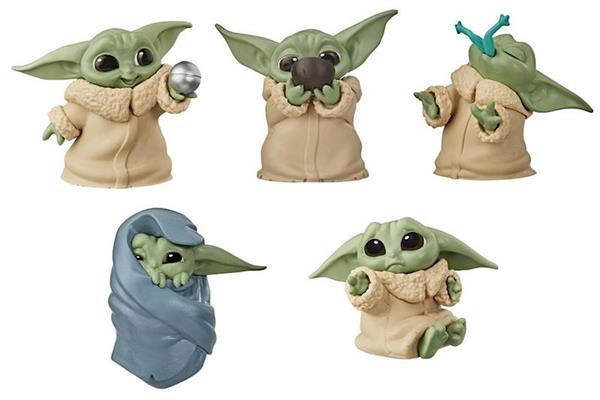 Imagen de Figuras Coleccionables Star Wars Mandalorian Baby Yoda 5,5 cm
