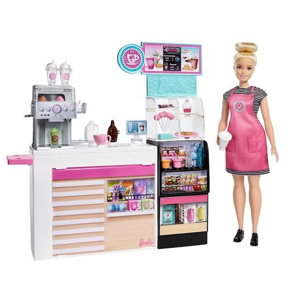 Imagen de Barbie y su Cafetería con Accesorios