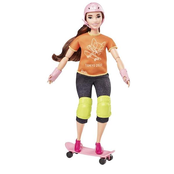 Imagen de Muñeca Barbie Patinadora Olimpiadas