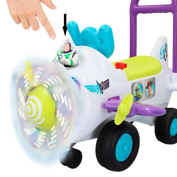Imagen de Correpasillos Avión Toy Story Con Luces Y Sonidos