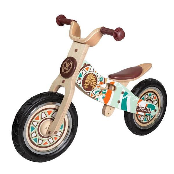 Imagen de Moto Correpasillos De Madera Indian